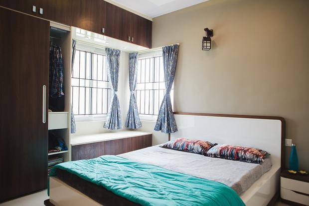Raumsparende Ideen für kleine Schlafzimmer